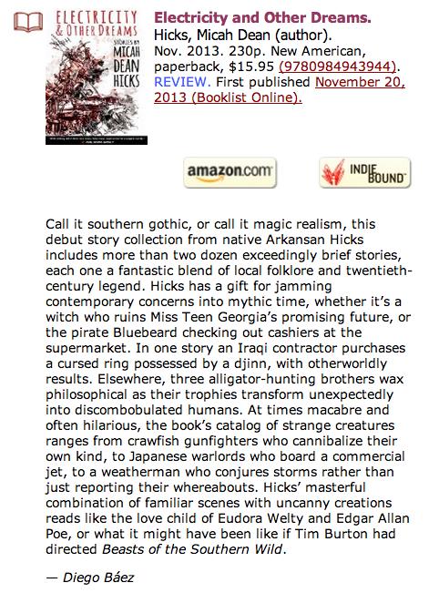 Booklist Online Review